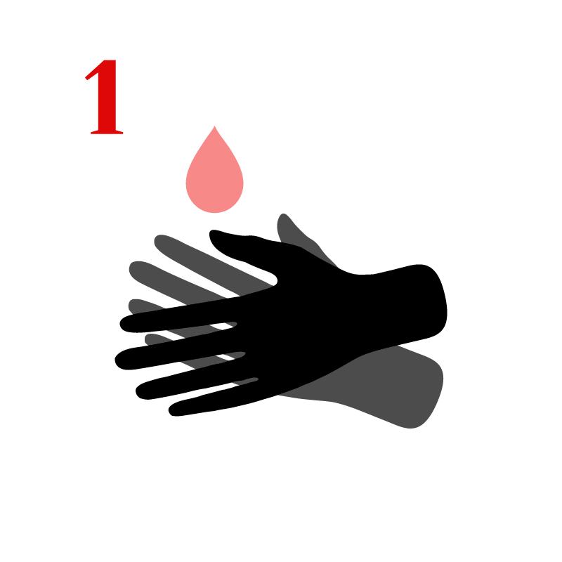 Lava muy bien tus manos